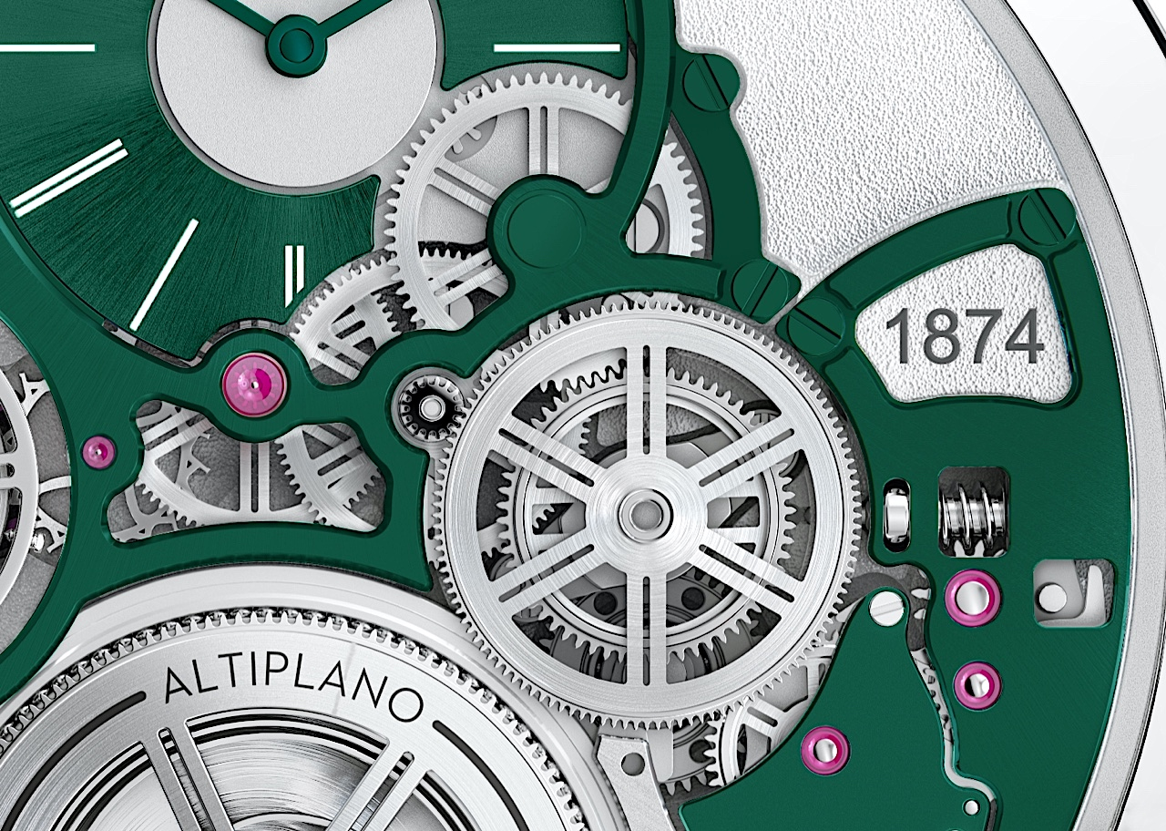 Piaget en Watches and Wonders 2021 - Altiplano Ultimate Concept detalle