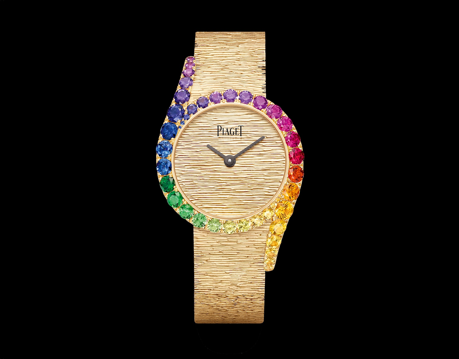Piaget en Watches and Wonders 2021 - Limelight Gala Precious Rainbow
