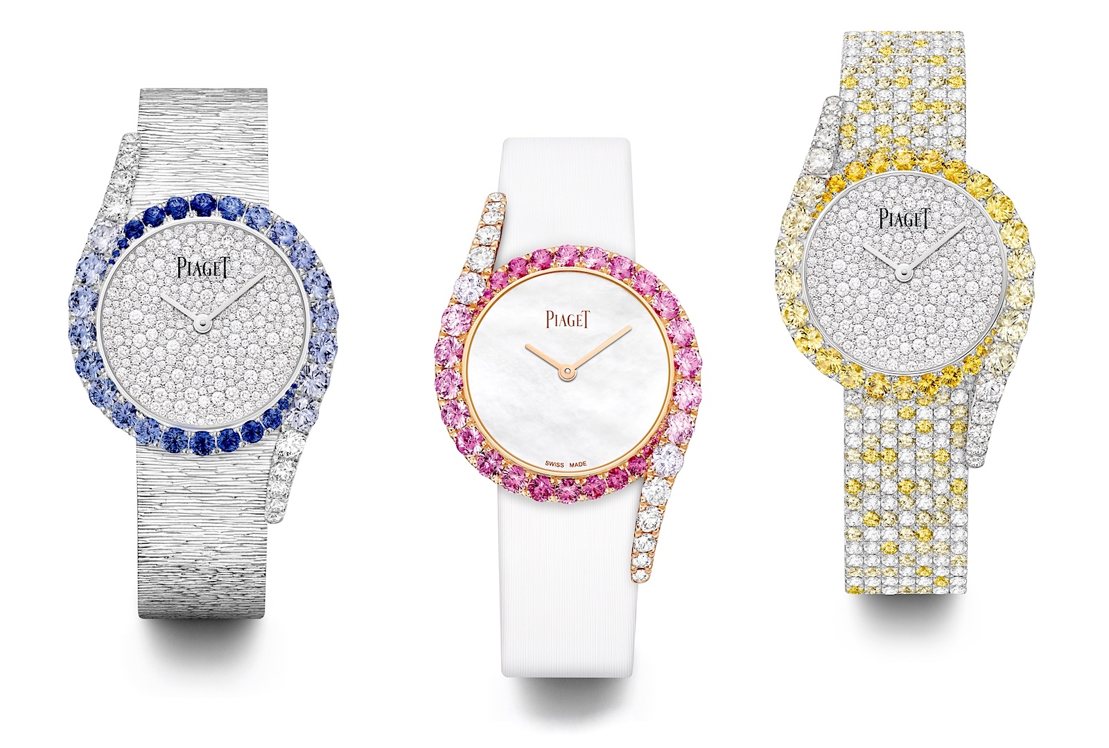 Piaget en Watches and Wonders 2021 - Limelight Gala trio