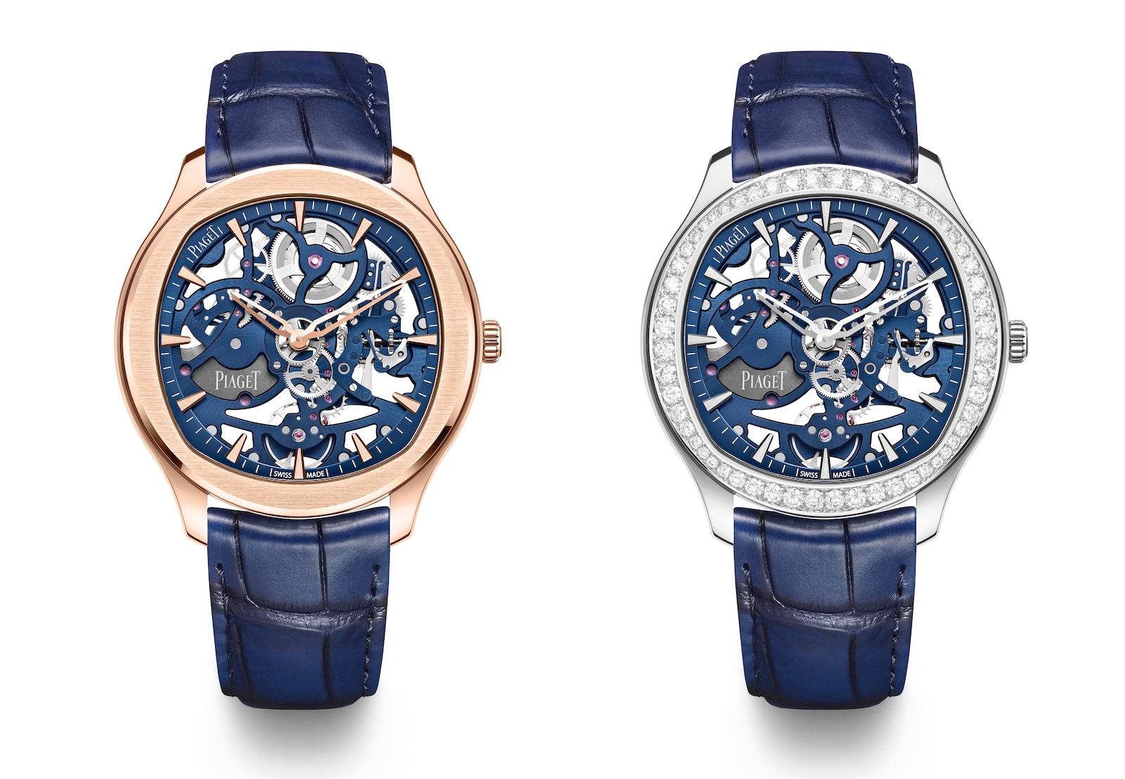 Piaget en Watches and Wonders 2021 - Polo Skeleton duo