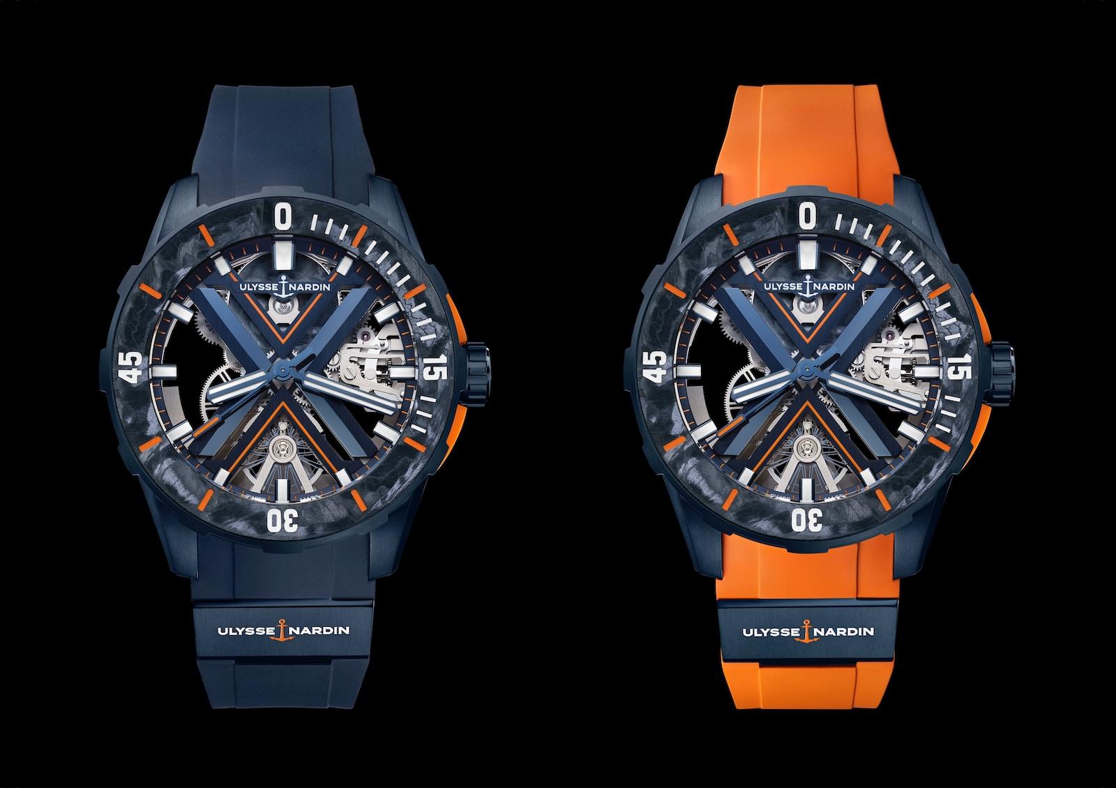 Ulysse Nardin en Watches and Wonders 2021 - Diver-X Skeleton DUO