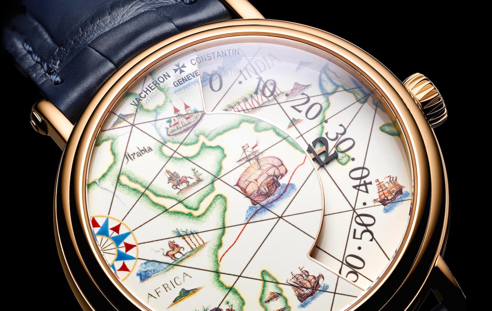 Vacheron Constantin en Watches and Wonders 2021 - Explorateurs esfera