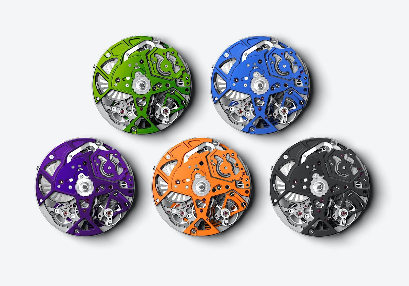 Zenith en Watches and Wonders 2021 - Defy 21 Spectrum calibres