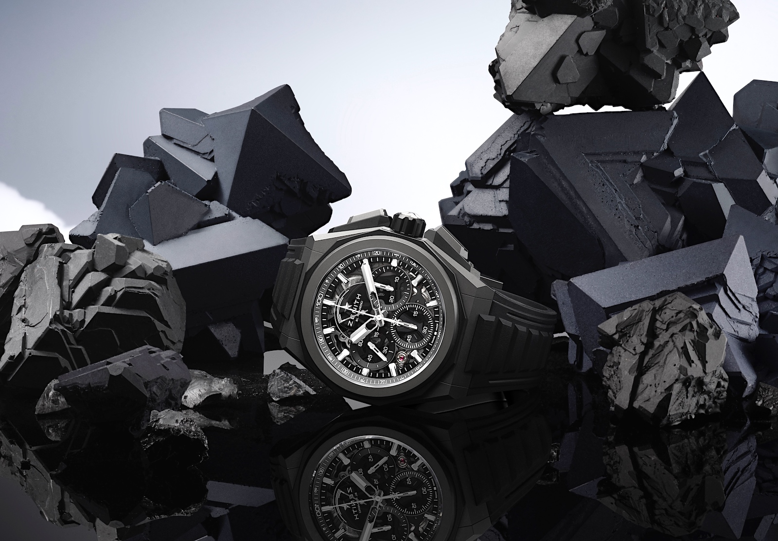 Zenith en Watches and Wonders 2021 - Defy Extreme black