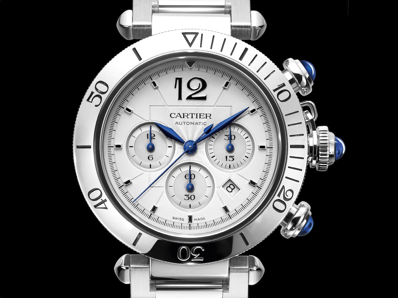 Cartier Pasha Chronograph - dial FB