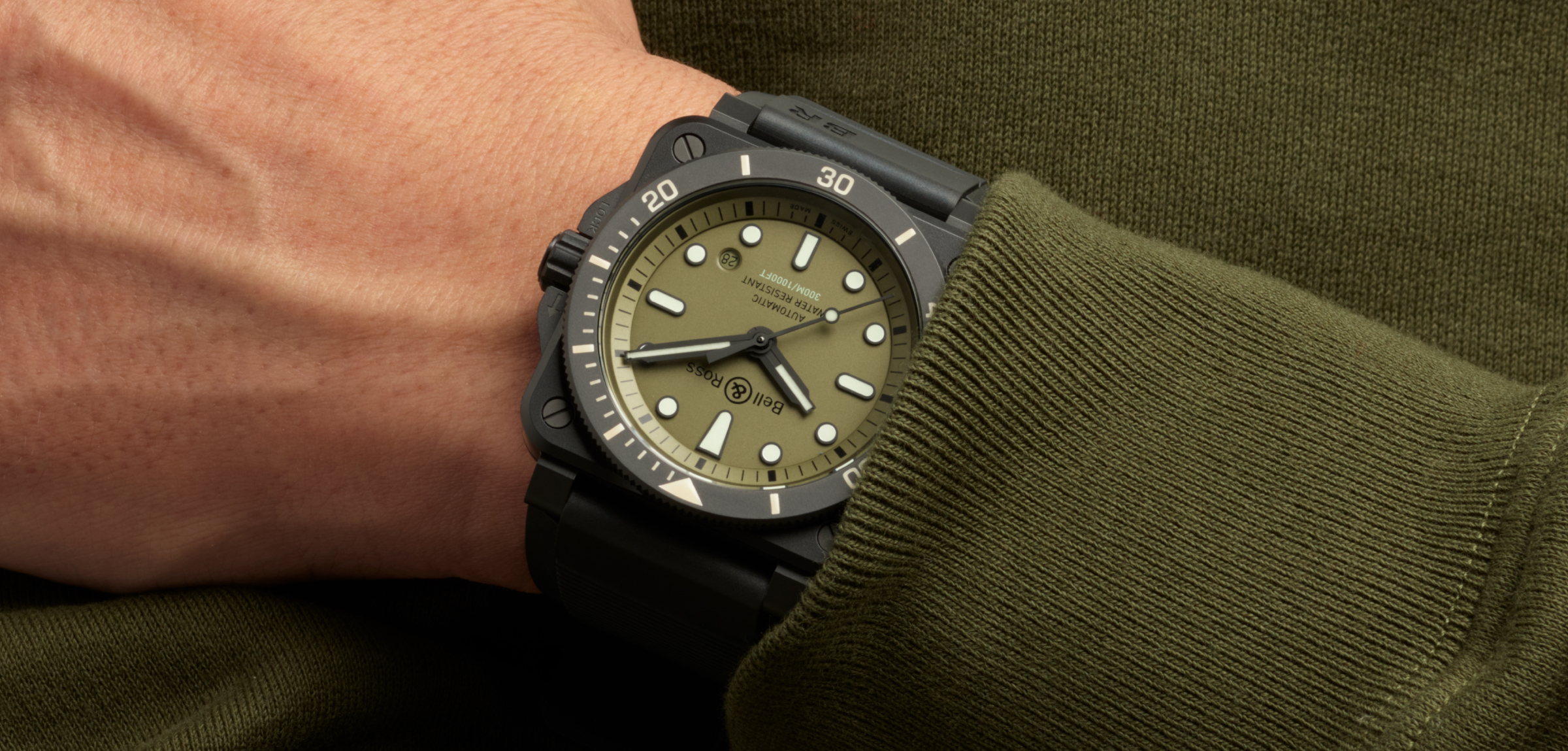 Bell & Ross BR 93-02 Diver Military