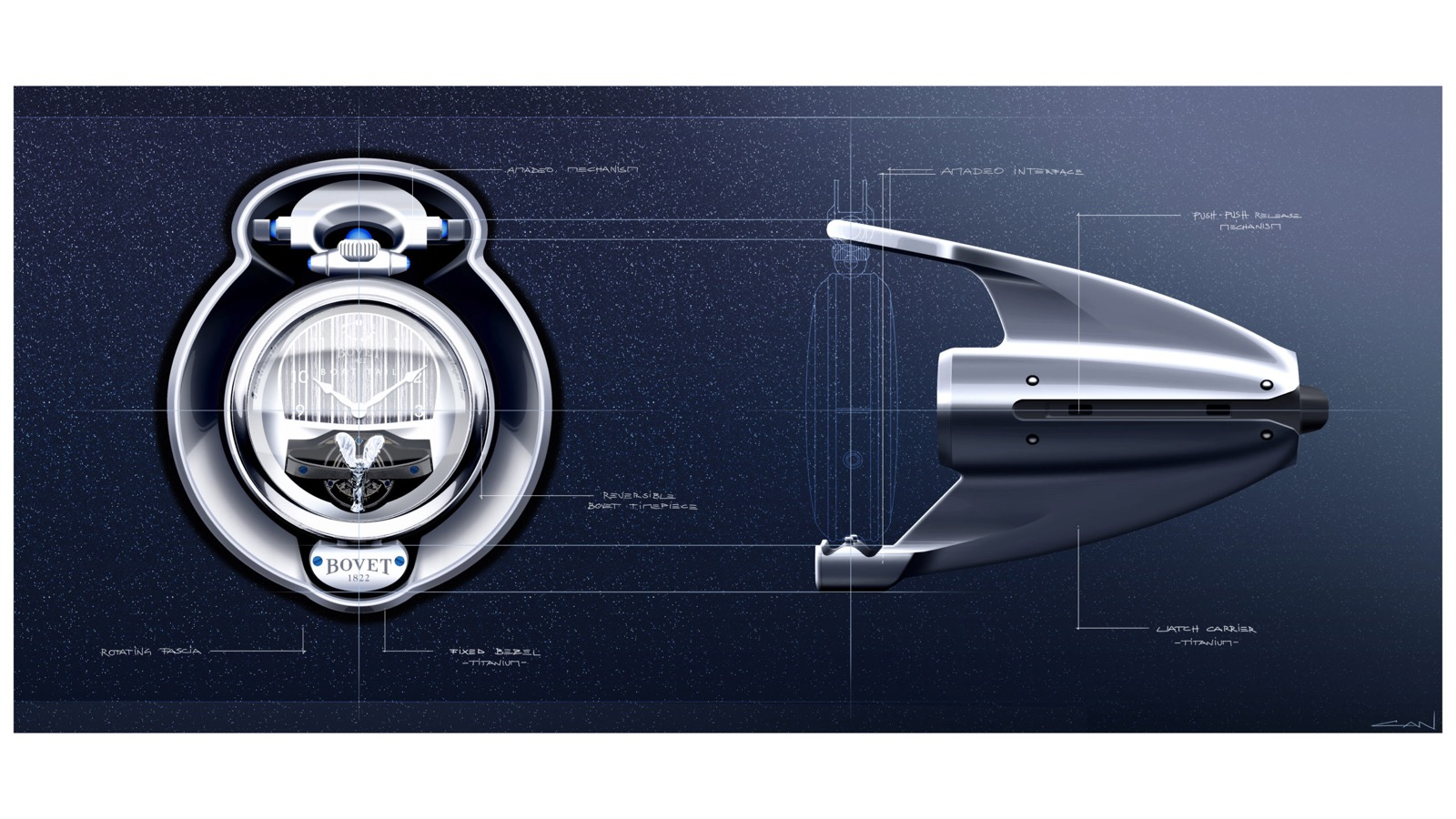 Bovet X Rolls-Royce Boat Tail