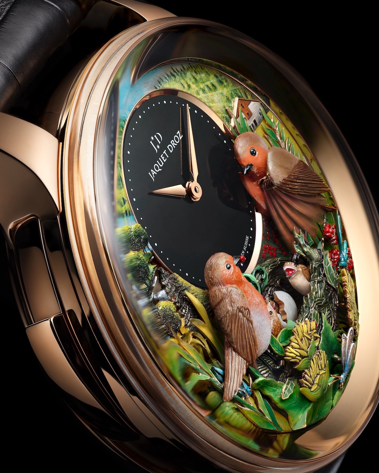 Jaquet Droz Bird Repeater 300th Anniversary Edition - detail 1