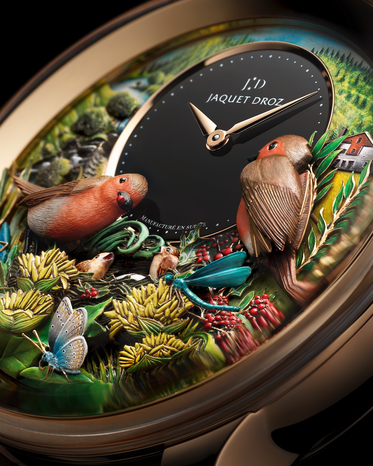 Jaquet Droz Bird Repeater 300th Anniversary Edition - detail 2