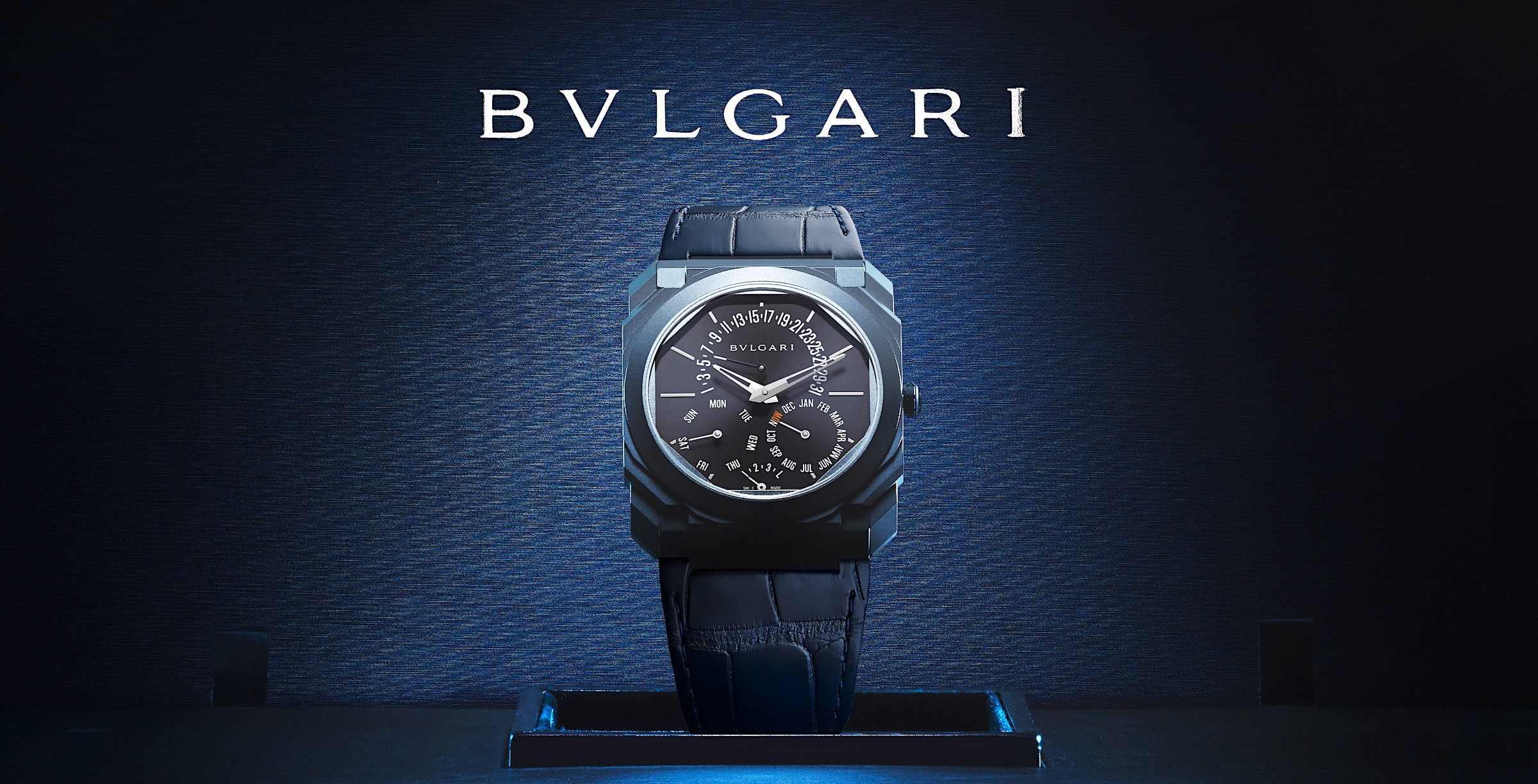 Bvlgari Octo Finissimo Perpetual Calendar Tantalum Only Watch 2021 - cover