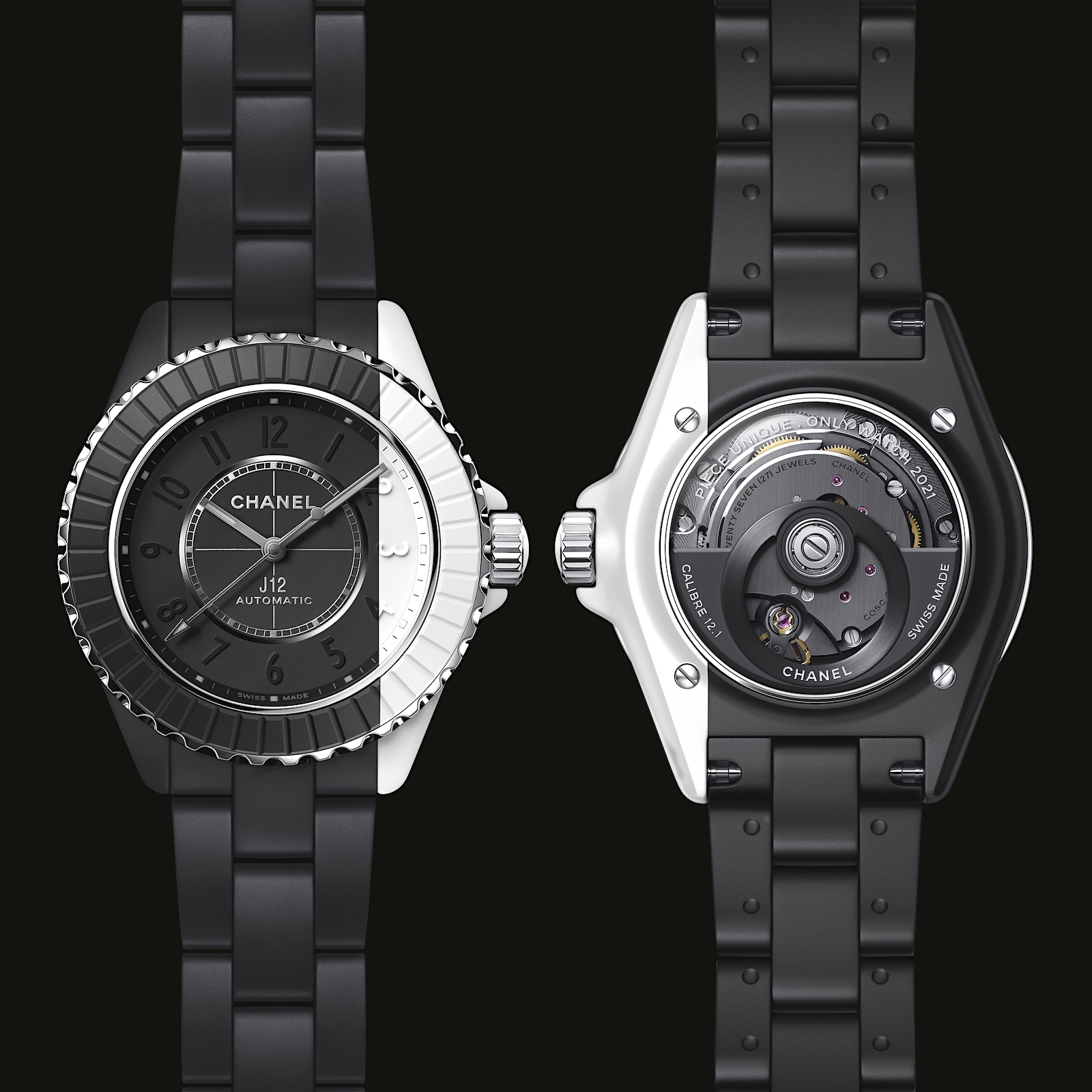 Chanel J12 Paradoxe Only 2 - black