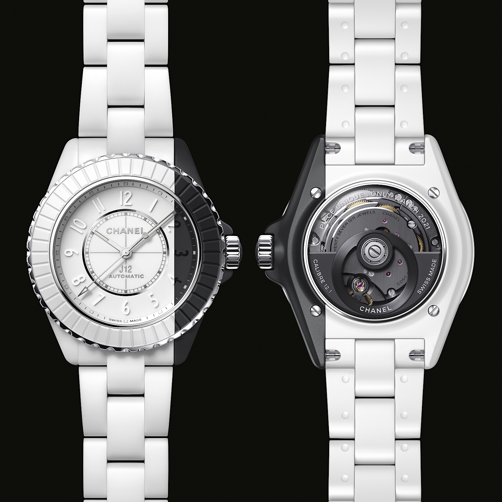 Chanel J12 Paradoxe Only 2 - white