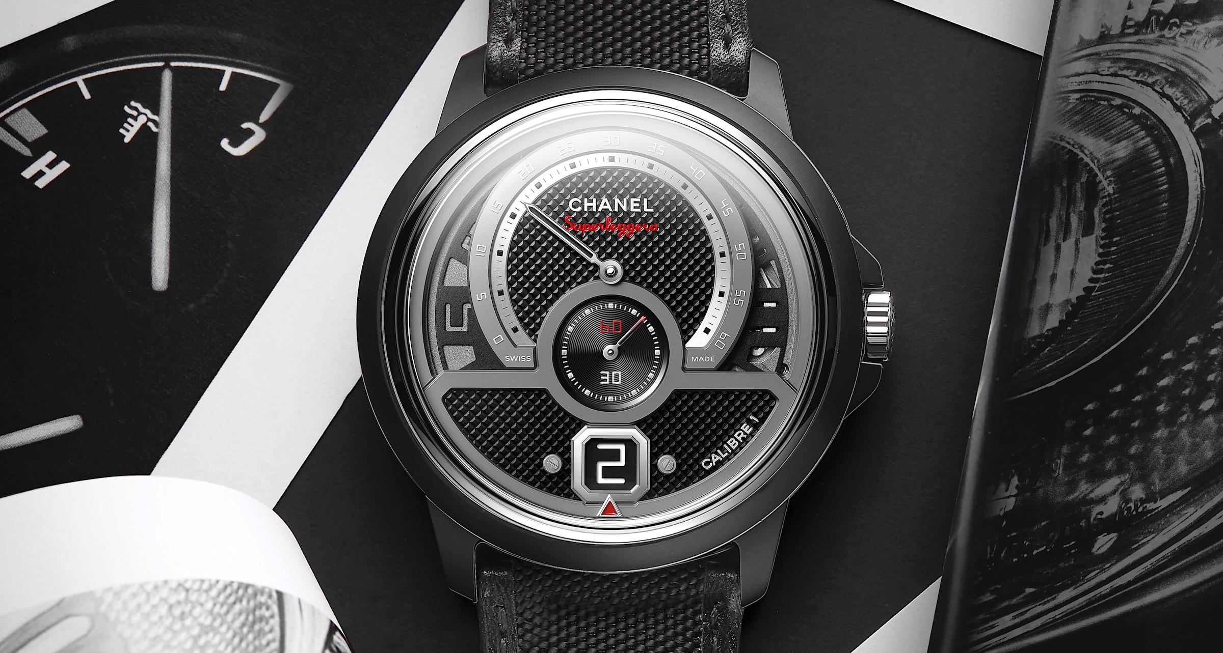 Chanel Monsieur Superleggera Edition - cover