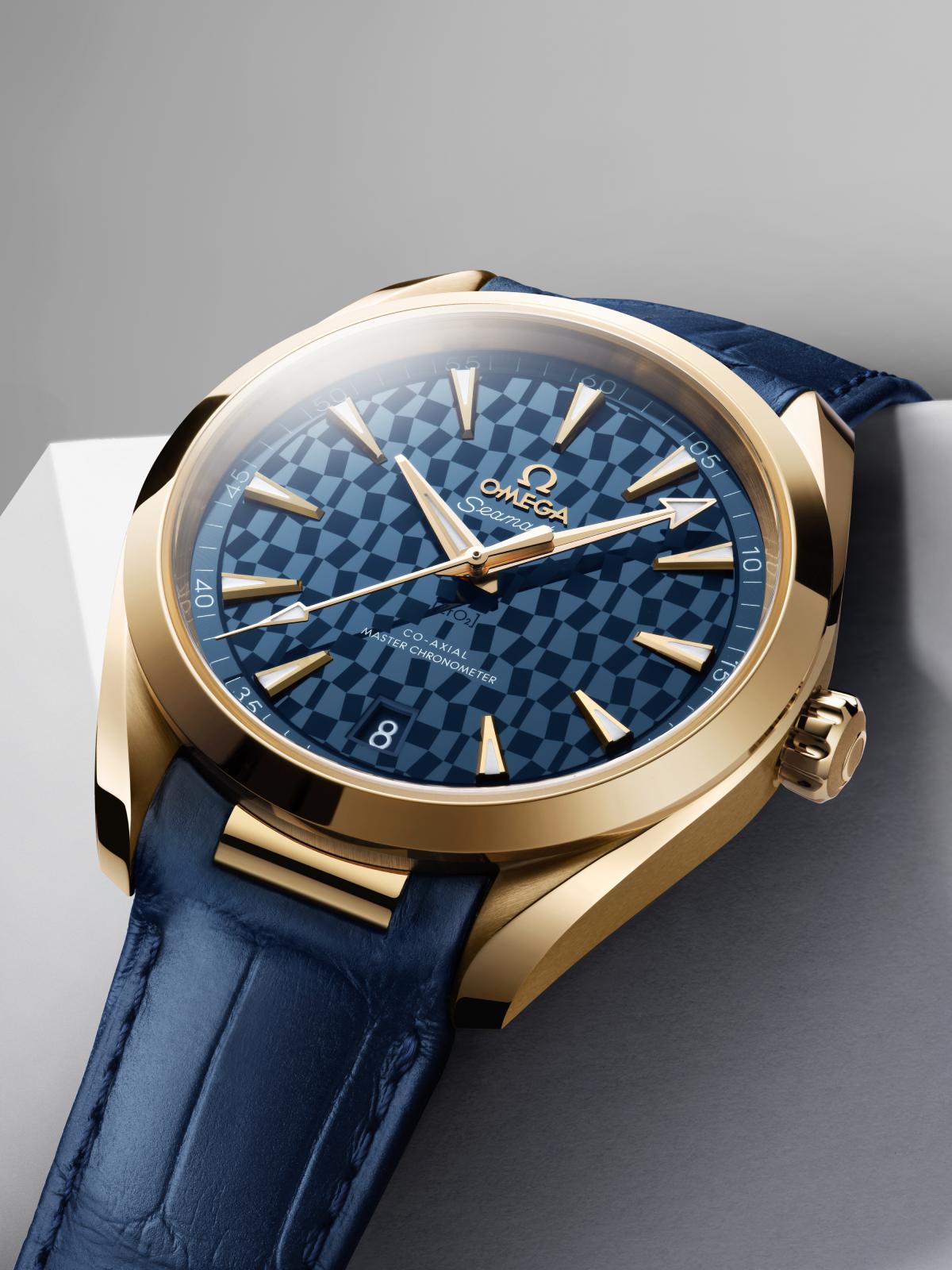 Omega Seamaster Aqua Terra Co-Axial Master Chronometer Tokio 2020