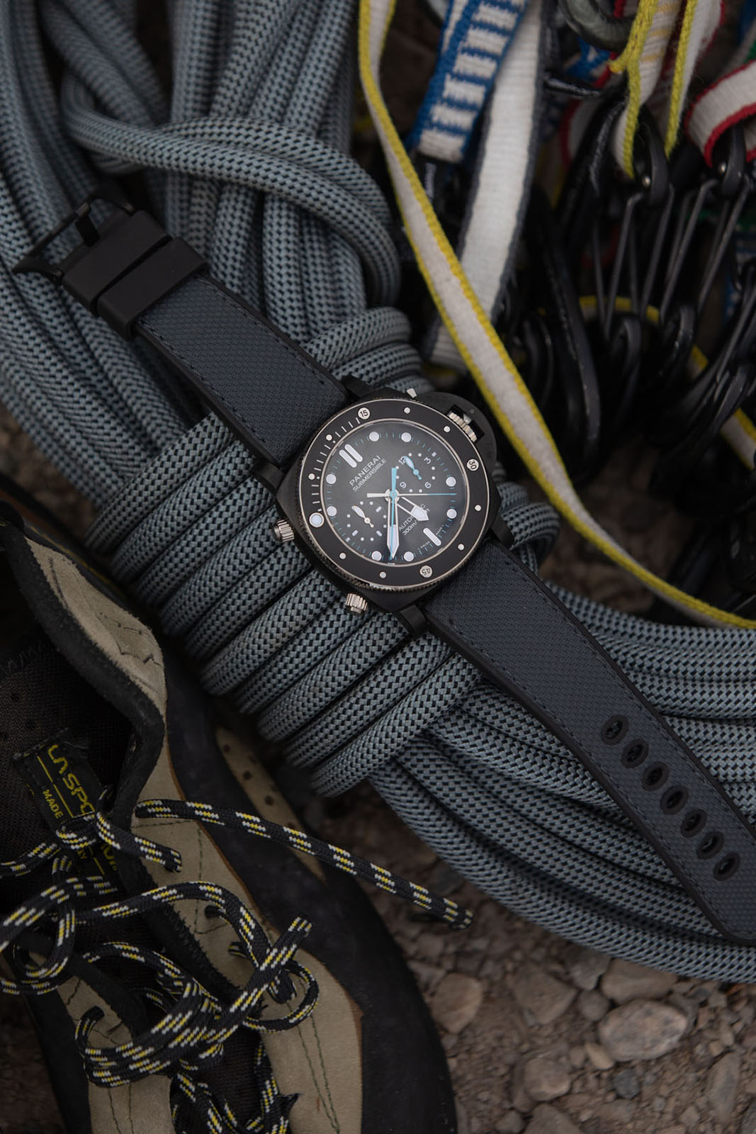 Panerai Submersible Chrono Flyback Jimmy Chin Editions