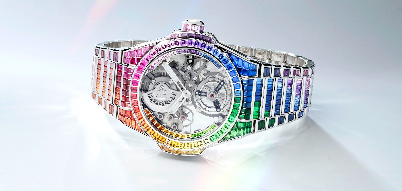 Hublot Big Bang Integral Tourbillon Rainbow - cover