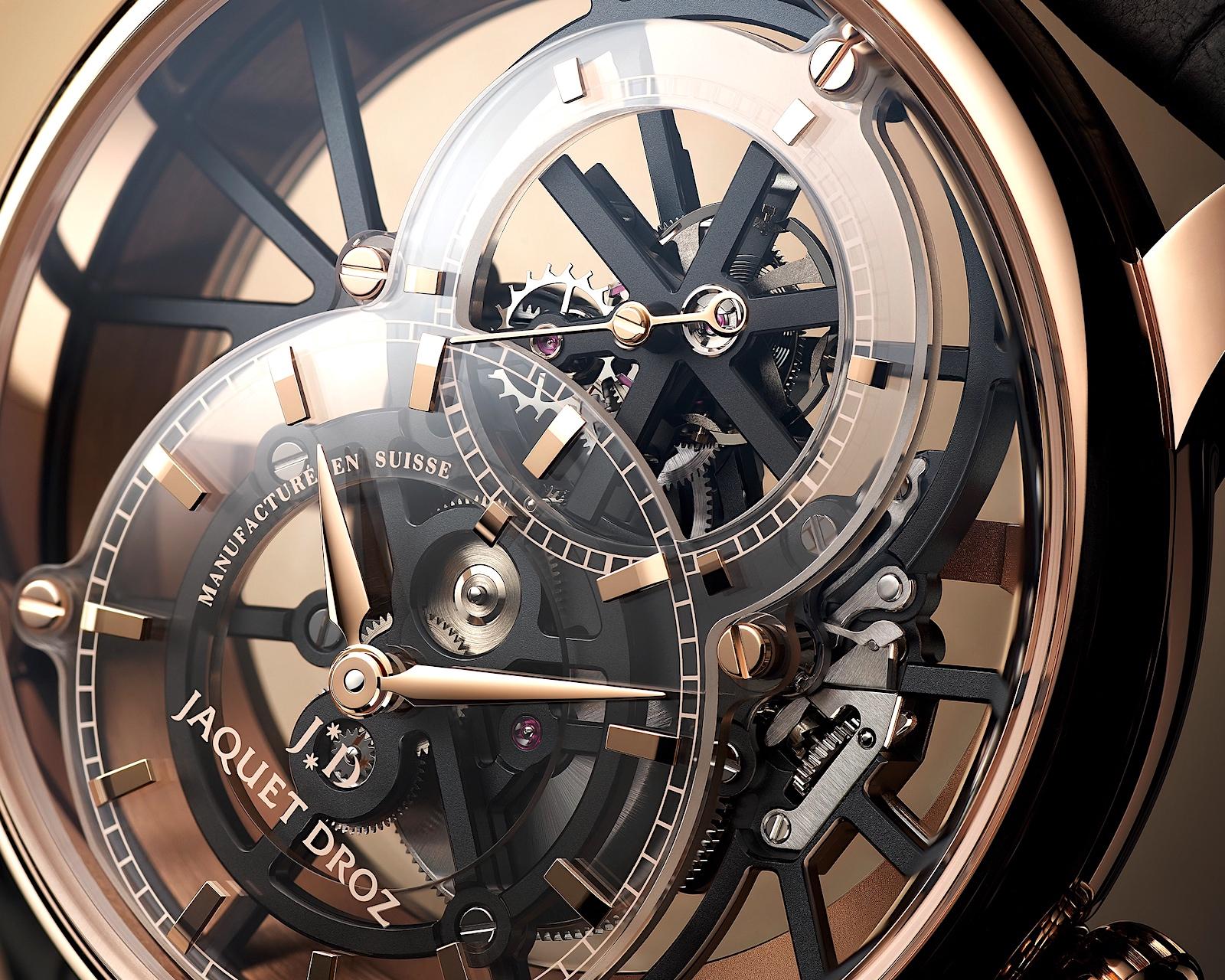 Jaquet Droz Grande Seconde Skelet-One Tourbillon - dial 1