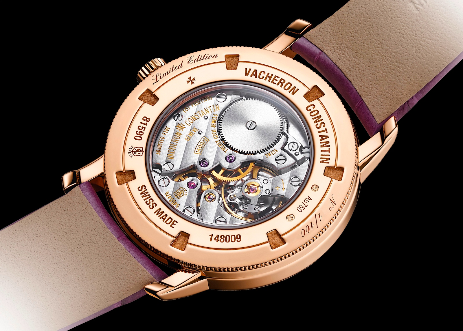 Vacheron Constantin Traditionnelle manual-winding, China Limited Edition - caseback