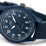 IWC presenta el Pilot's Watch Laureus Edition 2021 en cerámica azul