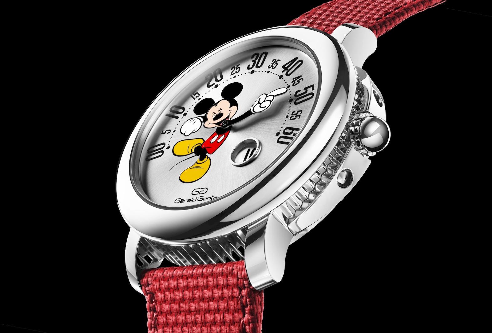Gerald Genta Arena Retrograde Mickey Mouse - profil