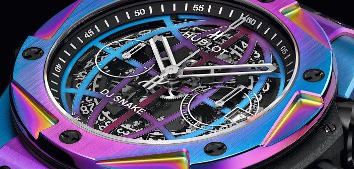 Hublot Big Bang DJ Snake. Música electrónica e iridiscencia.