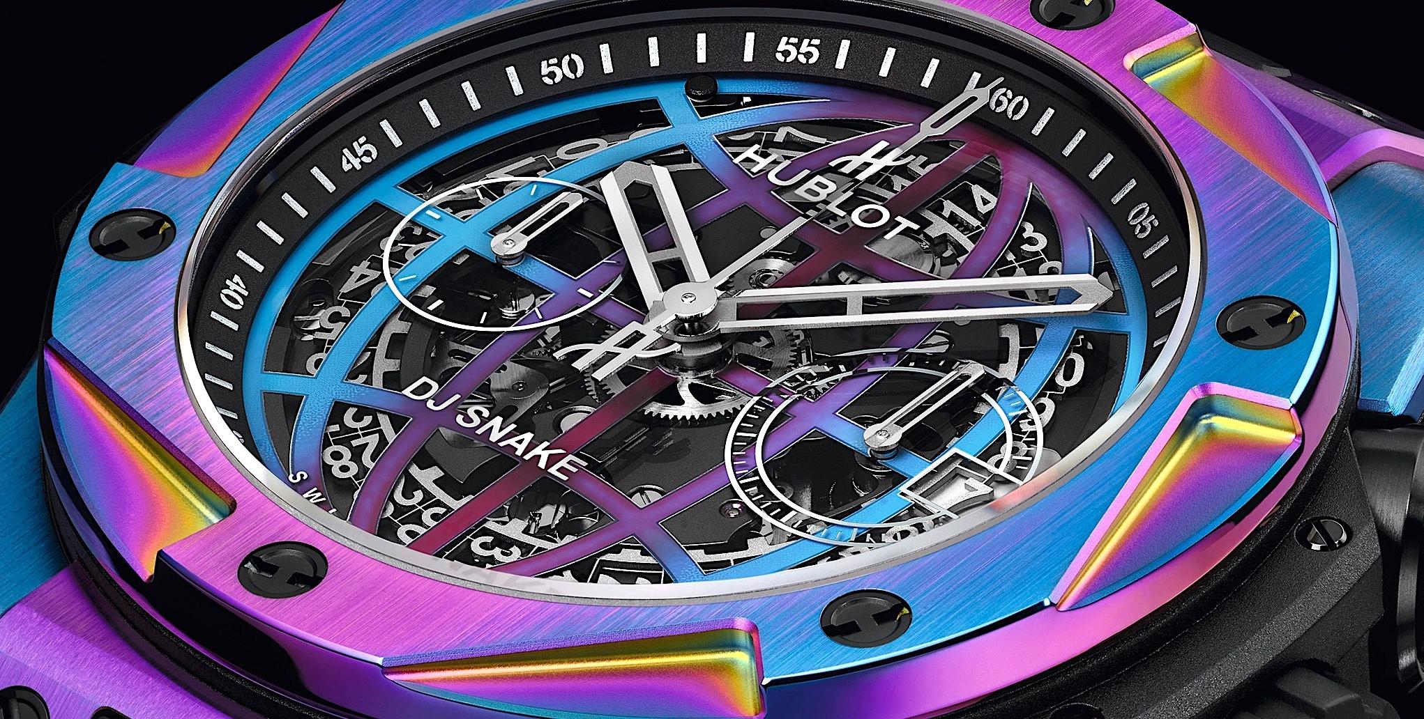 Hublot Big Bang DJ Snake - cover