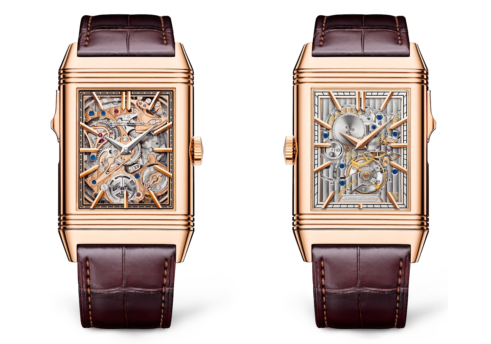 Jaeger-LeCoultre Reverso Tribute Minute Repeater - duo