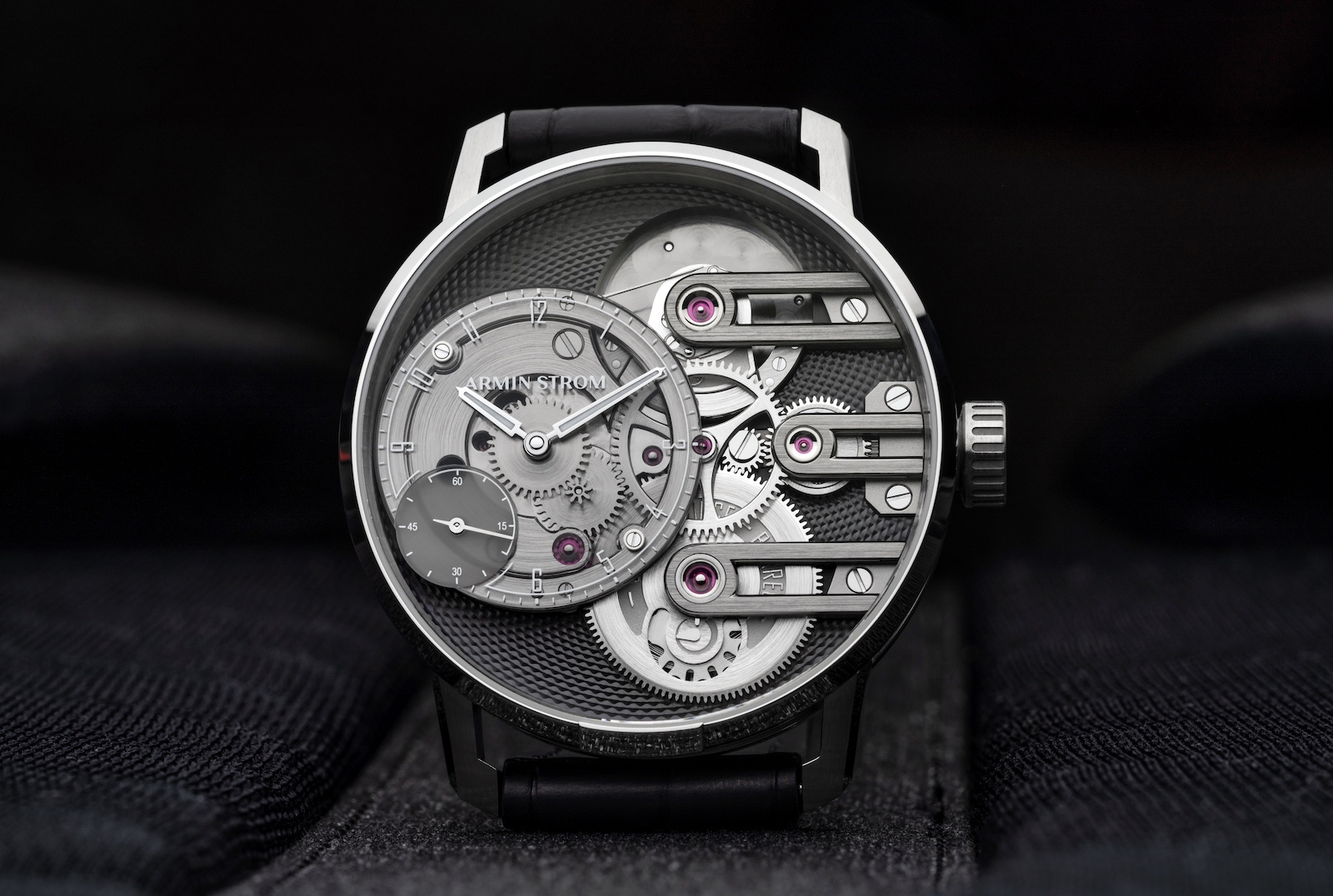 Armin Strom Gravity Equal Force Ultimate Sapphire - front