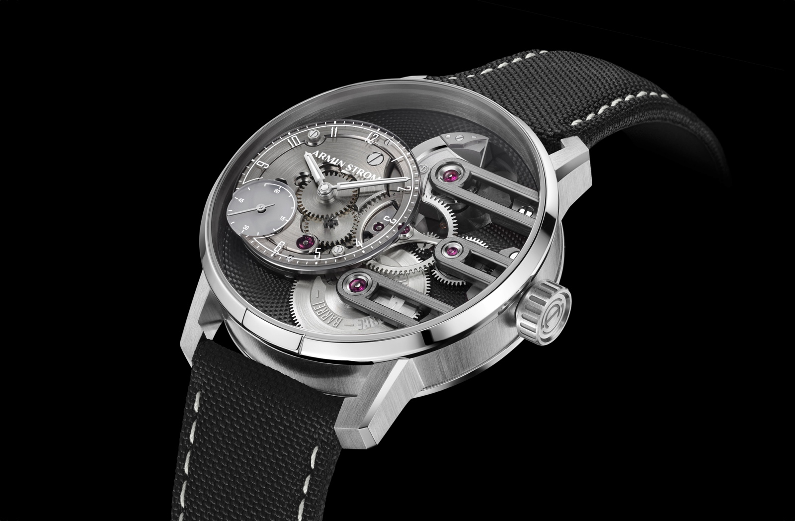 Armin Strom Gravity Equal Force Ultimate Sapphire - perfil