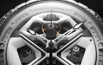 Roger Dubuis Excalibur Spider Huracán White Ceramic Composite